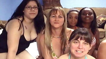 huge amateur homemade orgy and sex party