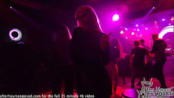hot club nights lesbian party girls pov and hot sex